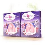 牛乳足膜3D X 2盒